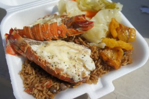Succulent Lobster from Michele's Jerk Out