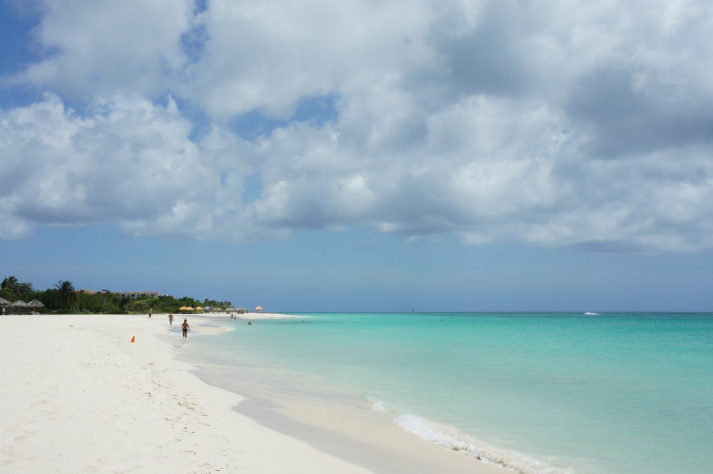 Eagle Beach is one of our favorite Aruban beacbes