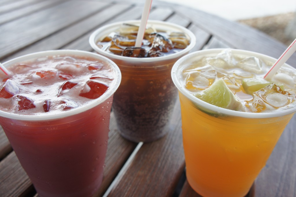 Rum Drinks at Nassau's British Colonial Hilton's Patio Bar and Grill