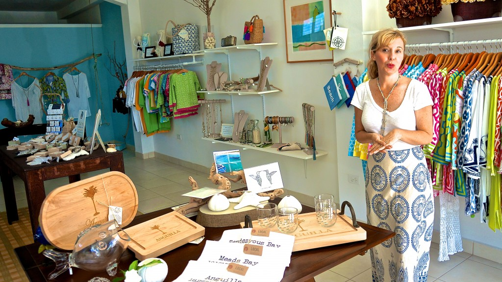 Renee sharing the story of Anguilla's Limin'