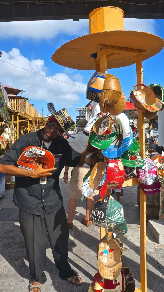 Vendor at Rum Festival Bahamas 2015