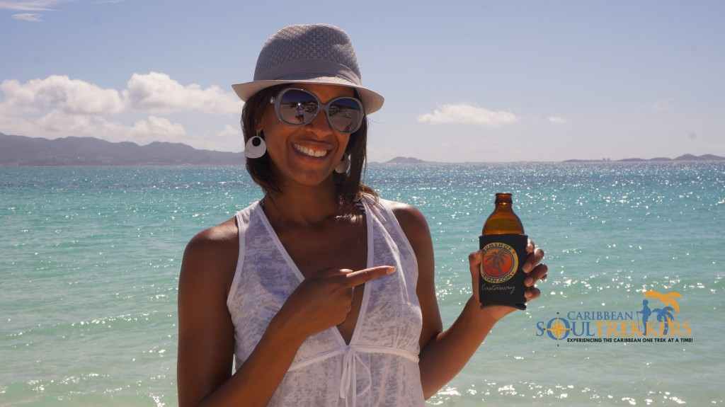 Passionfruit Sista with Red Stripe Beer at Garvey's Sunshine Shack