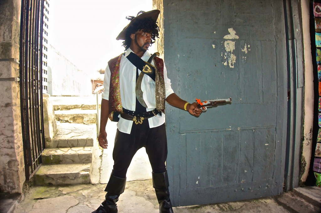 Pirate at Festival Rum Bahamas 2015